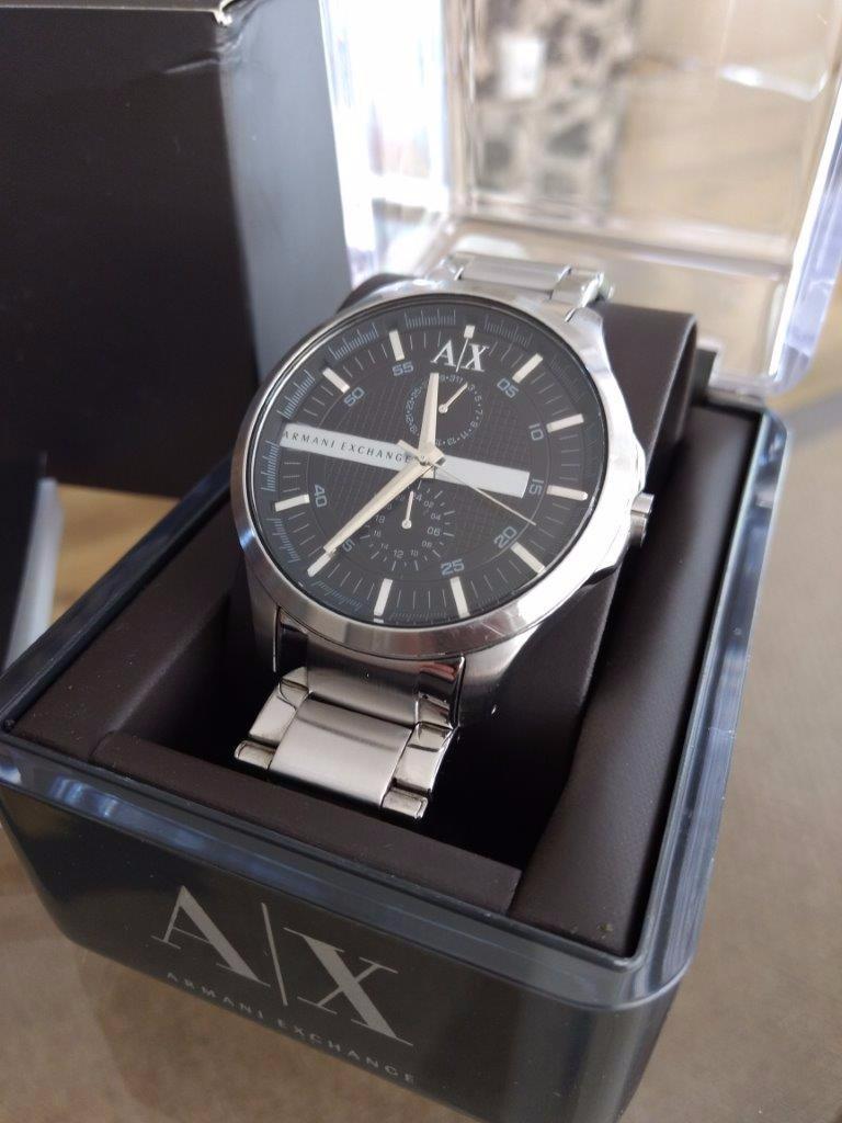 Relógio Armani Exchange Ax2118 Original Pouco Usado - R  599,00 em ... 9337fe3b58