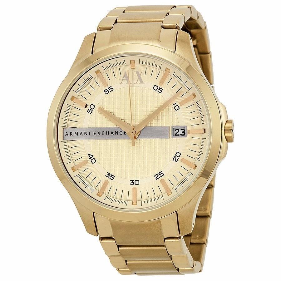 c4b1c11b2a861 relógio armani exchange ax2131 dourado original garantia 1. Carregando zoom.