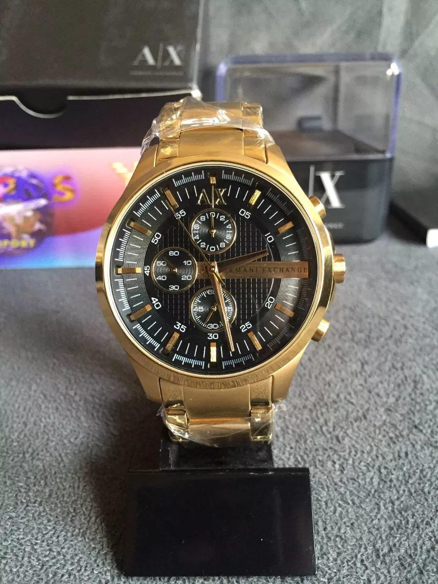 1cc81ff51afa1 relogio armani exchange ax2137 gold super oferta. Carregando zoom.