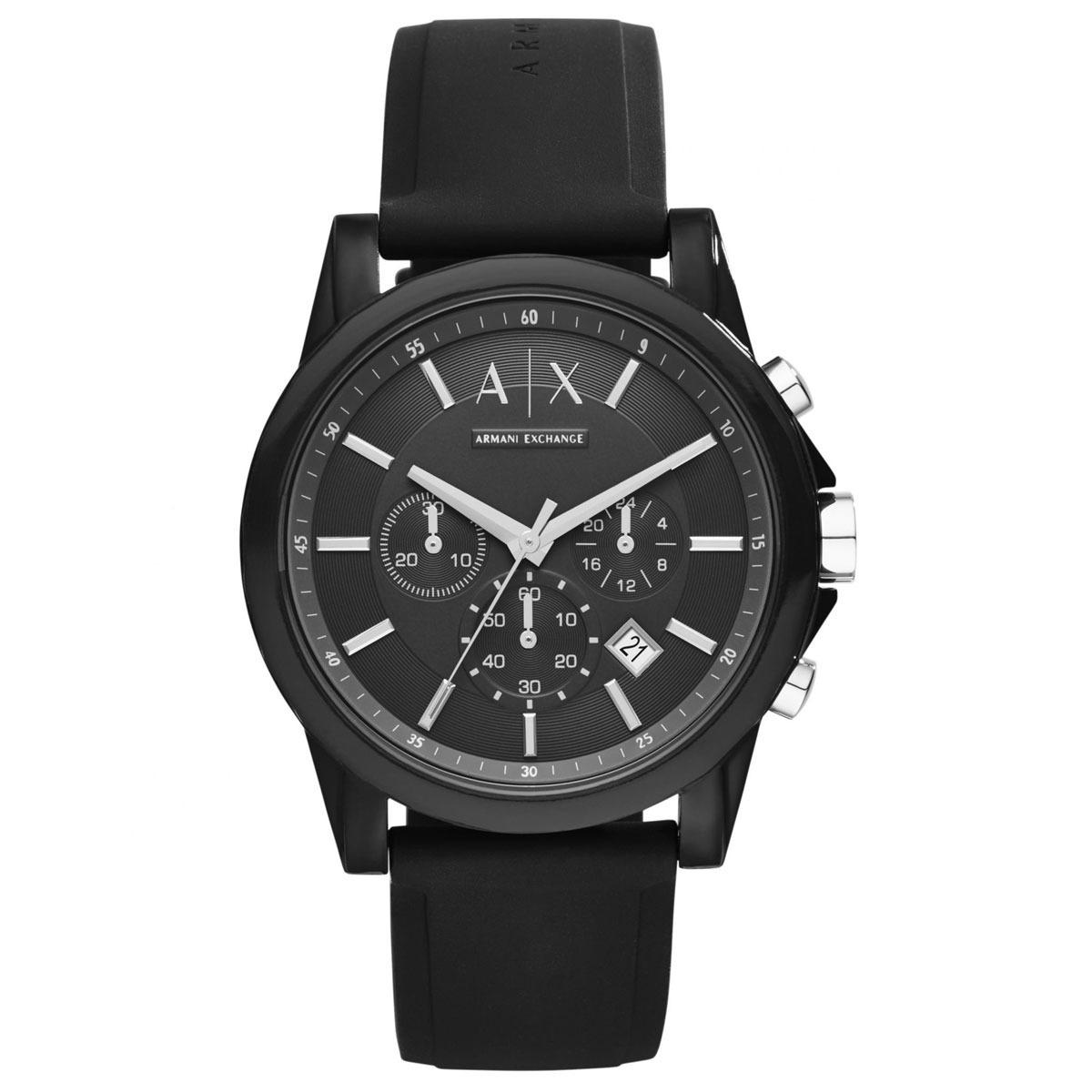 aad8be5c61e relógio armani exchange chronograph 100% original - ax1326. Carregando zoom.