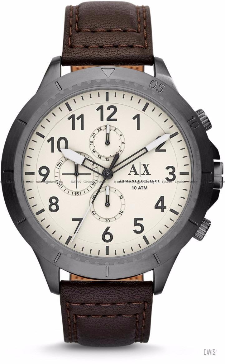 32e543ad973 relógio armani exchange couro - ax1757. Carregando zoom.