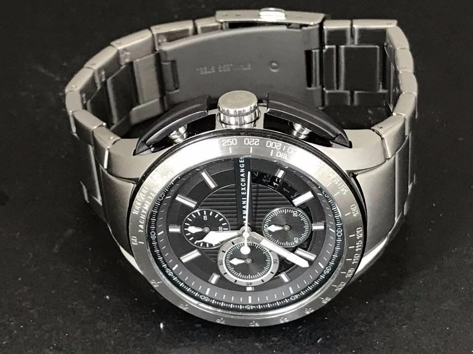 a6d7bf8c48b Relógio Armani Exchange Cronógrafo Ax1403 - Importado - R  530