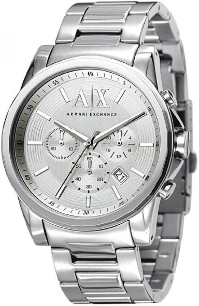 e6d05832f7a relógio armani exchange cronógrafo ax2058 1kn prata. Carregando zoom.