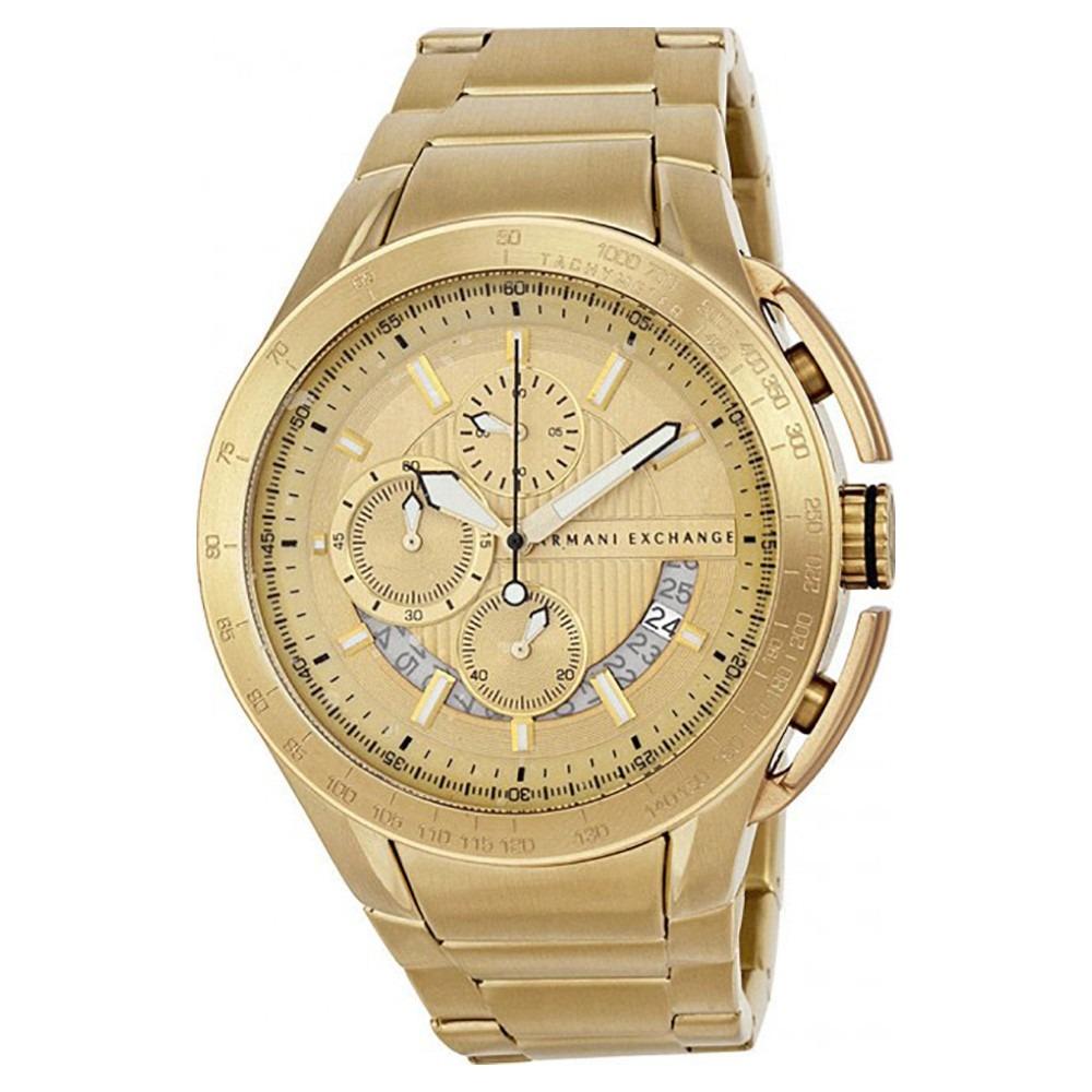 3e97af57b8dbc Relogio Armani Exchange Dourado Ax1407 Original Nf - R  890,00 em ...