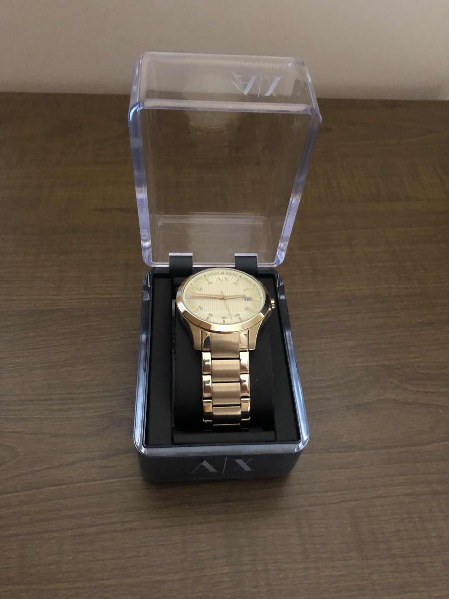 5900203340c Relógio - Armani Exchange Dourado - Ax2131 - 4pn - R  650