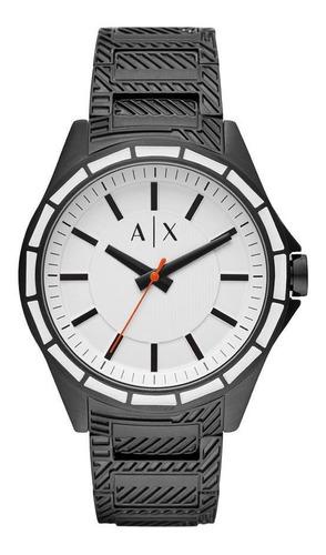 relógio armani exchange drexler masculino preto ax2625/1pn