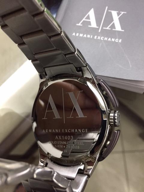 087ce950b4b Relógio Armani Exchange - Importado - R  590