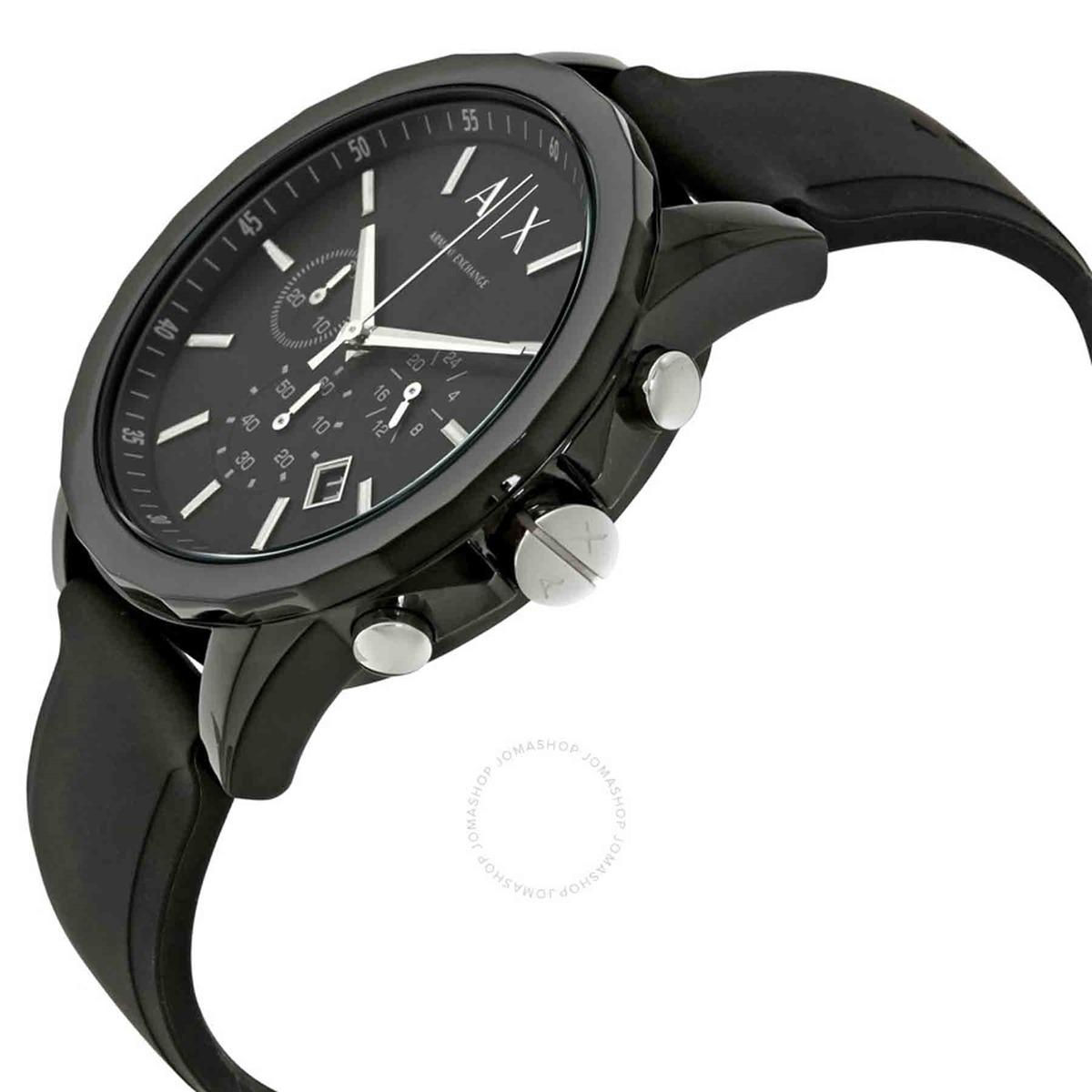 6eb212cf2f6 Relógio Armani Exchange Masculino Todo Preto Ax1326 - R  1.529