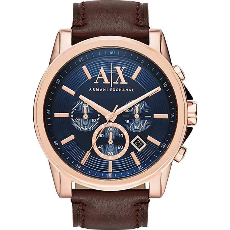 76f8f1e3ec8 Características. Marca Armani Exchange  Modelo AX2508  Gênero Masculino   Material da correia do relógio de pulso ...