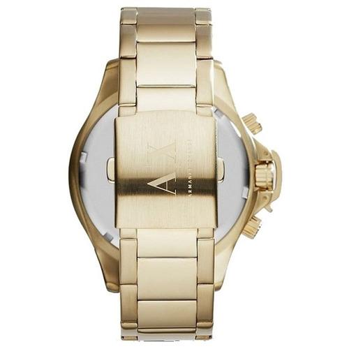 167a9f823e9 Relógio Armani Exchange Masculino Ax1504 1pn - Dourado - R  356