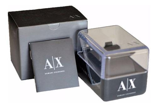 relógio armani exchange masculino cronógrafo - ax1752/4dn