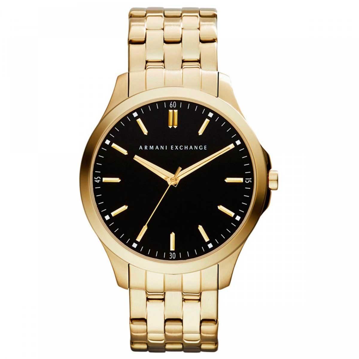 relógio armani exchange masculino dourado analógico ax2145 4. Carregando  zoom. 7a0bd363b6