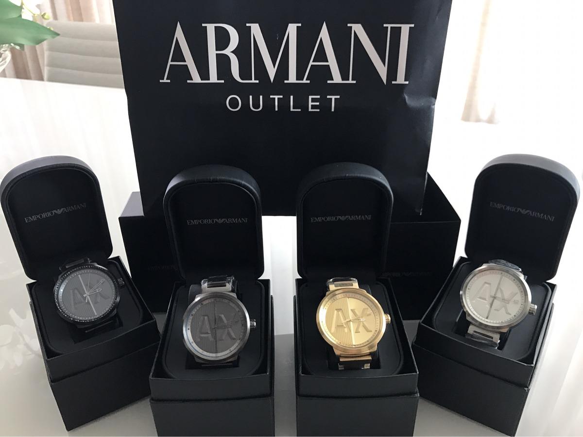cc6f6f6146619 relógio armani exchange masculino quartz ax1363 4dn dourado. Carregando  zoom.