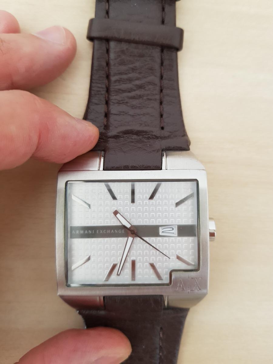 af88b20050e relógio armani exchange - original couro marrom. Carregando zoom.