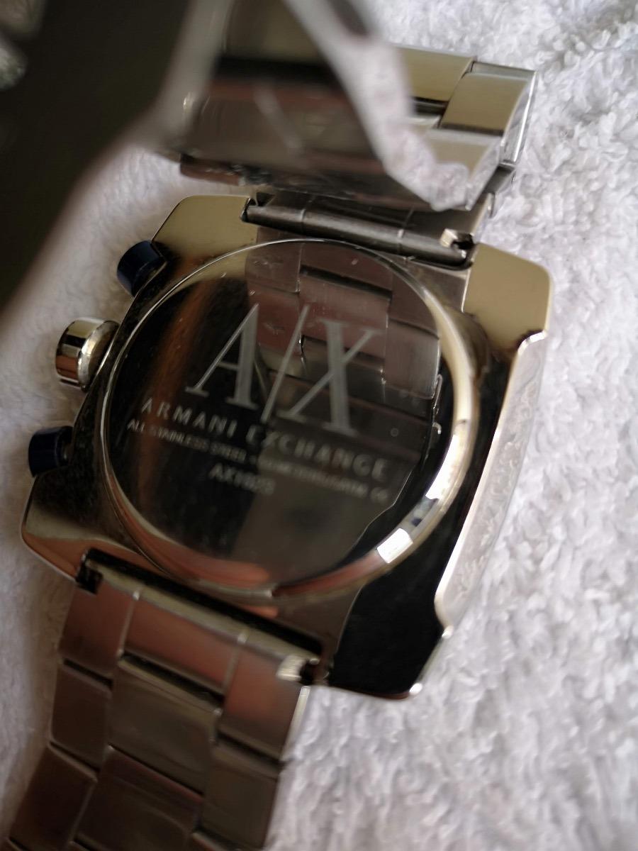 15faab4c7d6 relógio armani exchange quadrado fundo branco. Carregando zoom.