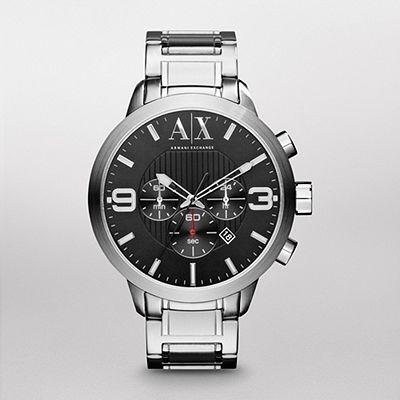 relógio armani masculino exchange uax1272z original e barato