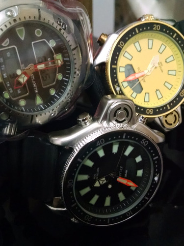 a5c16e604b2 Relógio Atlantis Aqualand Original Mod 3220 Puls. Borracha - R  95 ...