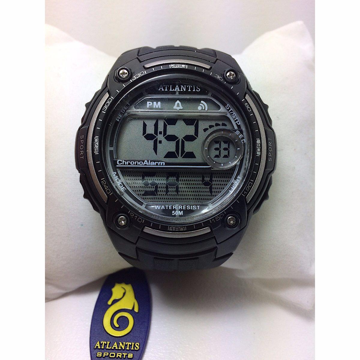 74b59678edb relogio atlantis digital natação sport prova d agua g7408. Carregando zoom.