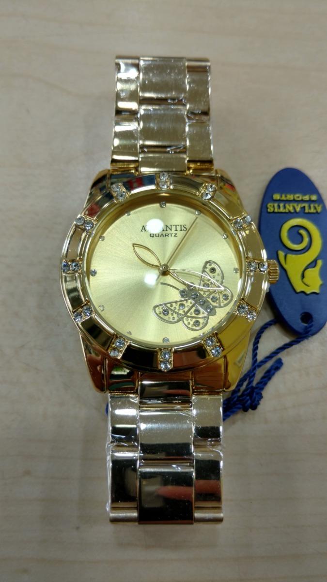 699b55498fa relógio atlantis dourado original - lançamentos frete grati. Carregando zoom .