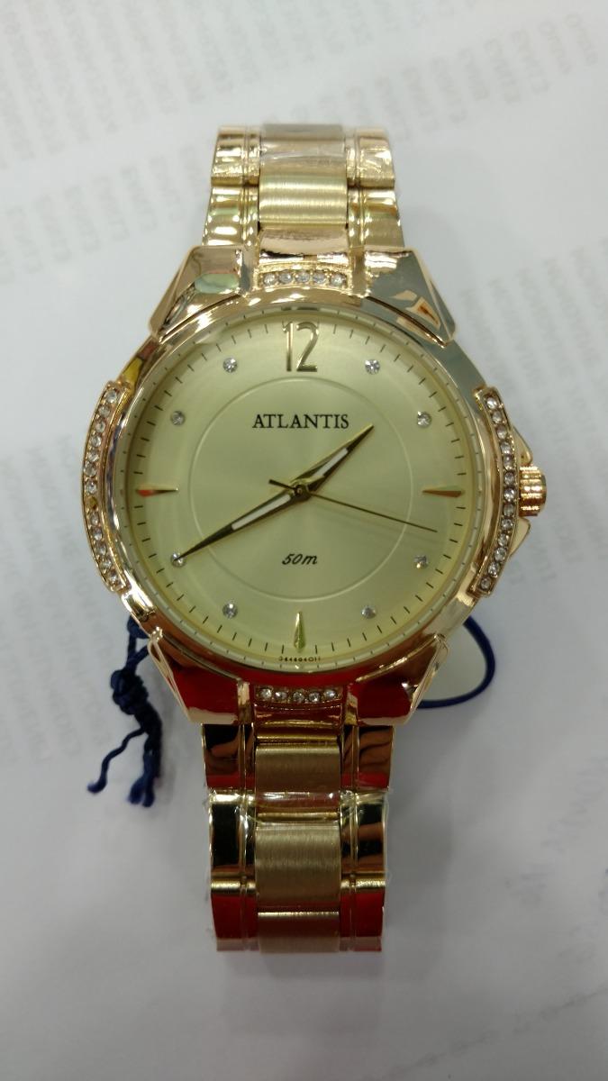 7ced59181b3 relógio atlantis feminino luxo original 3414 lançamento. Carregando zoom.