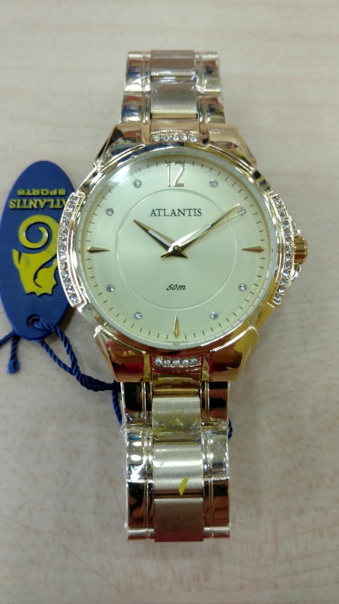 dfd46a90af6 relógio atlantis feminino luxo original - lançamento 3414. Carregando zoom.