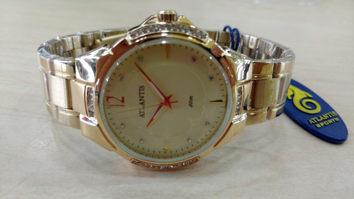 b60e25fccb1 relógio atlantis feminino luxo original - lançamento 3414. Carregando zoom.