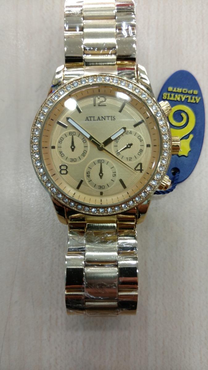 a780cbeb99d relógio atlantis feminino original estilo guees frete gratis. Carregando  zoom.