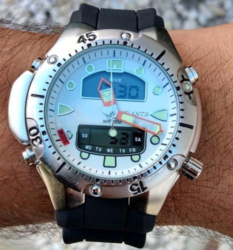 relógio atlantis jp1060