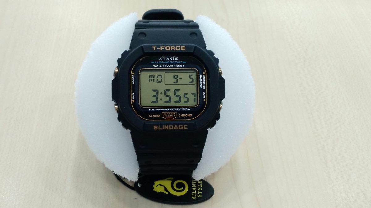 dff34211e39 relógio atlantis modelo casio g-shock retro a prova d agua. Carregando zoom.