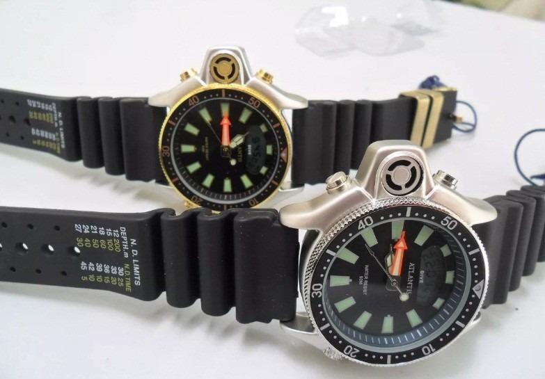 52dd23dc071 Relógio Atlantis Original Aqualand Modelo Jp2000 - R  99