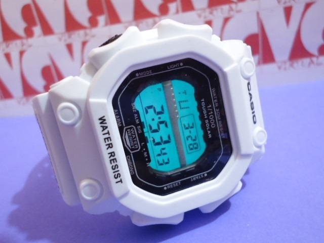 755cf3d840d Relogio Atlantis Original Gshock Quadrado Branco Big   Casio - R  59 ...