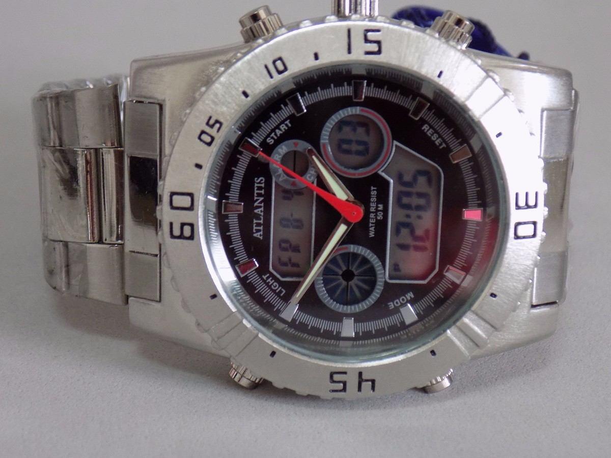 29170f36b88 relógio atlantis original modelo 3211 frete gratis!!! Carregando zoom.