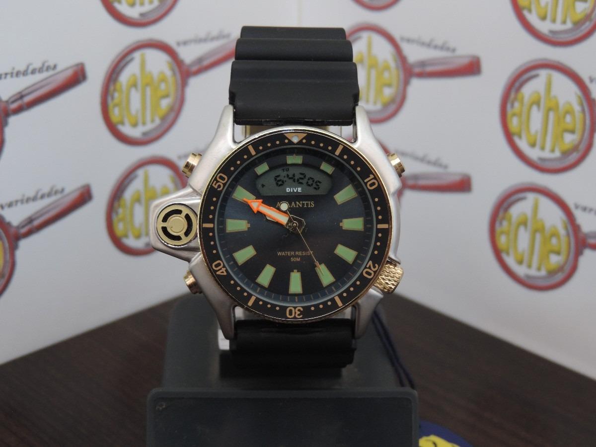 853d9fd1667 relogio atlantis original modelo aqualand serie ouro  citzen. Carregando  zoom.