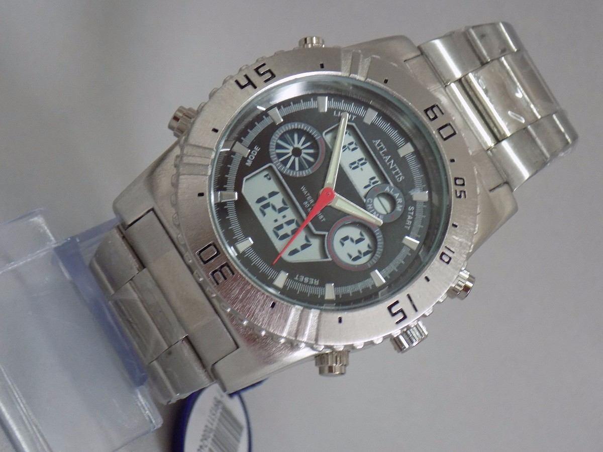 7bcc1761a06 relógio atlantis original modelo g3211. Carregando zoom.