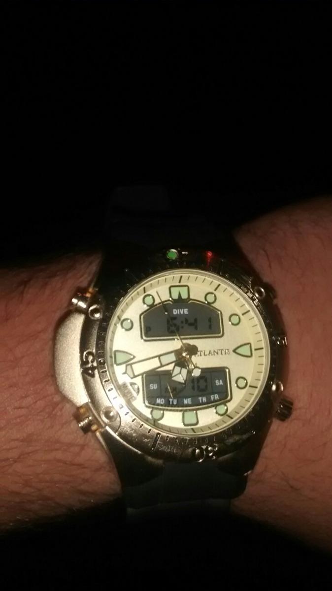 1e139caf8 Relógio Atlantis Ótima Qualidade , Aprova D'água , Confira - R$ 150 ...