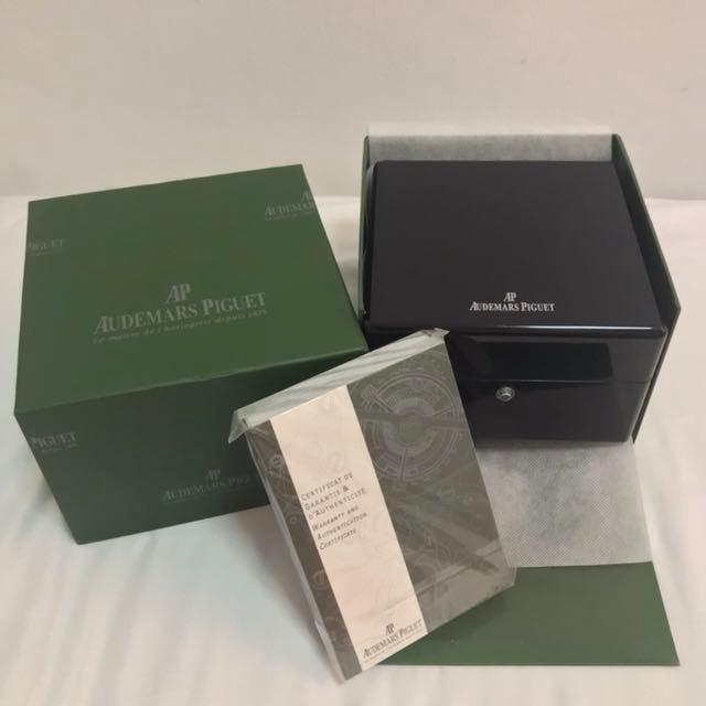 ac385a7fc79 Relógio Audemars Piguet Royal Oak Dourado + Caixa E Papeis! - R ...