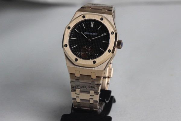 18f5af5c8c0 Relógio Audemars Piguet Royal Oak Dourado + Caixa E Papeis! - R  2.499