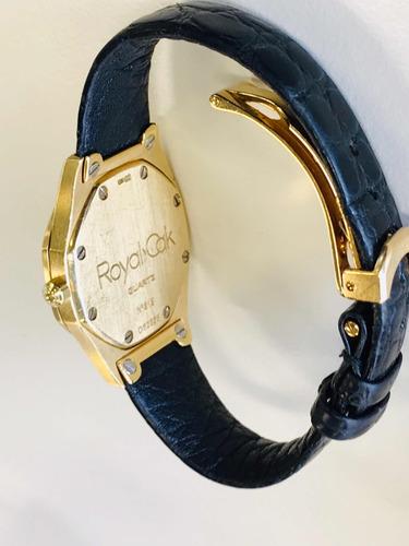 relógio audemars piguet royal oak ouro 18k.
