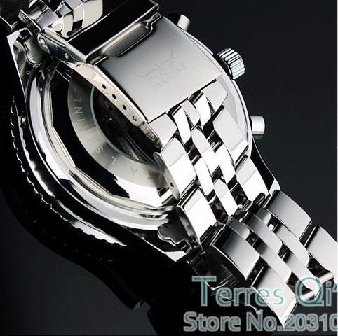 relógio automatic jaragar luxury md02 - pronta entrega