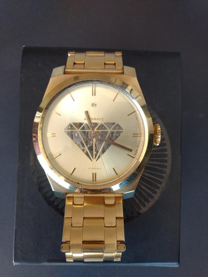85210508a14 relógio automático diamante chilli beans original zerado. Carregando zoom.