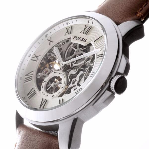 53f7311a5f249 Relógio Automático Fossil Me3052 Esportivo Pulseira De Couro - R ...