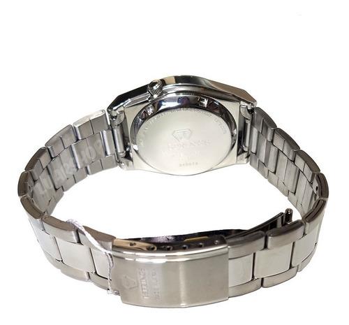 relogio automatico jsprings linha seiko masculino prata bi
