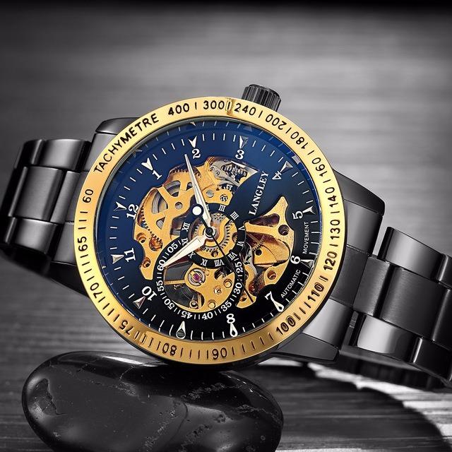 f31d7348a75 Relógio Automático Luxuoso Importado - R  175