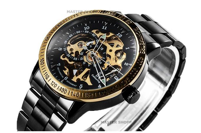 a17dc0b5c37 Relógio Automático Masculino - Luxo - Ik Colouring Skeleton - R  329 ...