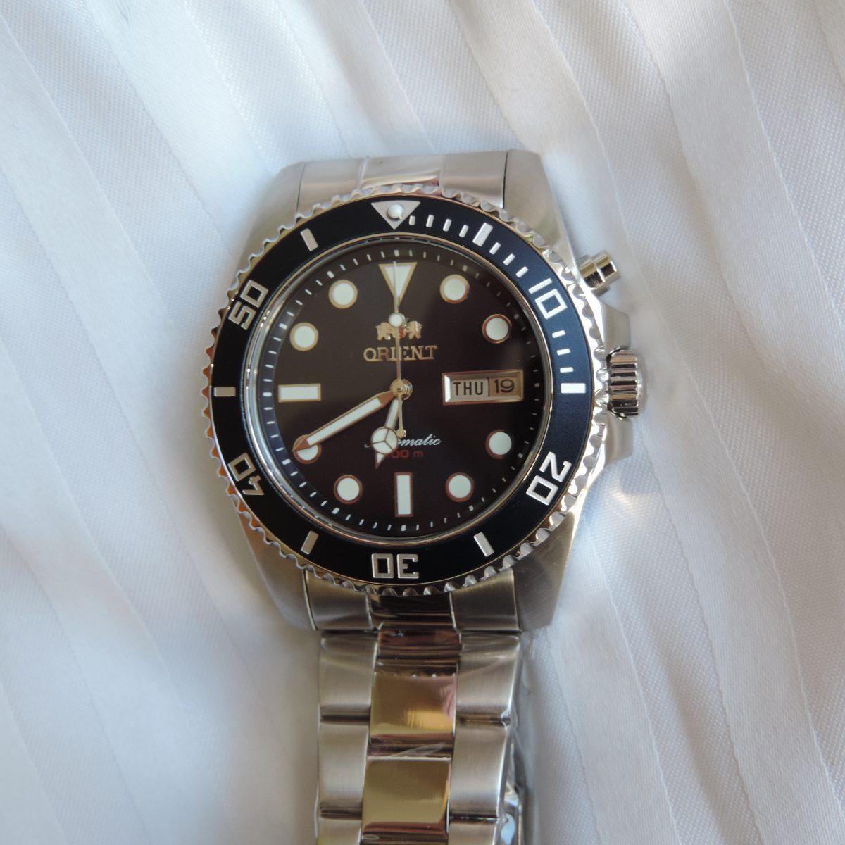 498484c50dc relógio automático orient 469ss067 masculino luxuoso lindo. Carregando zoom.