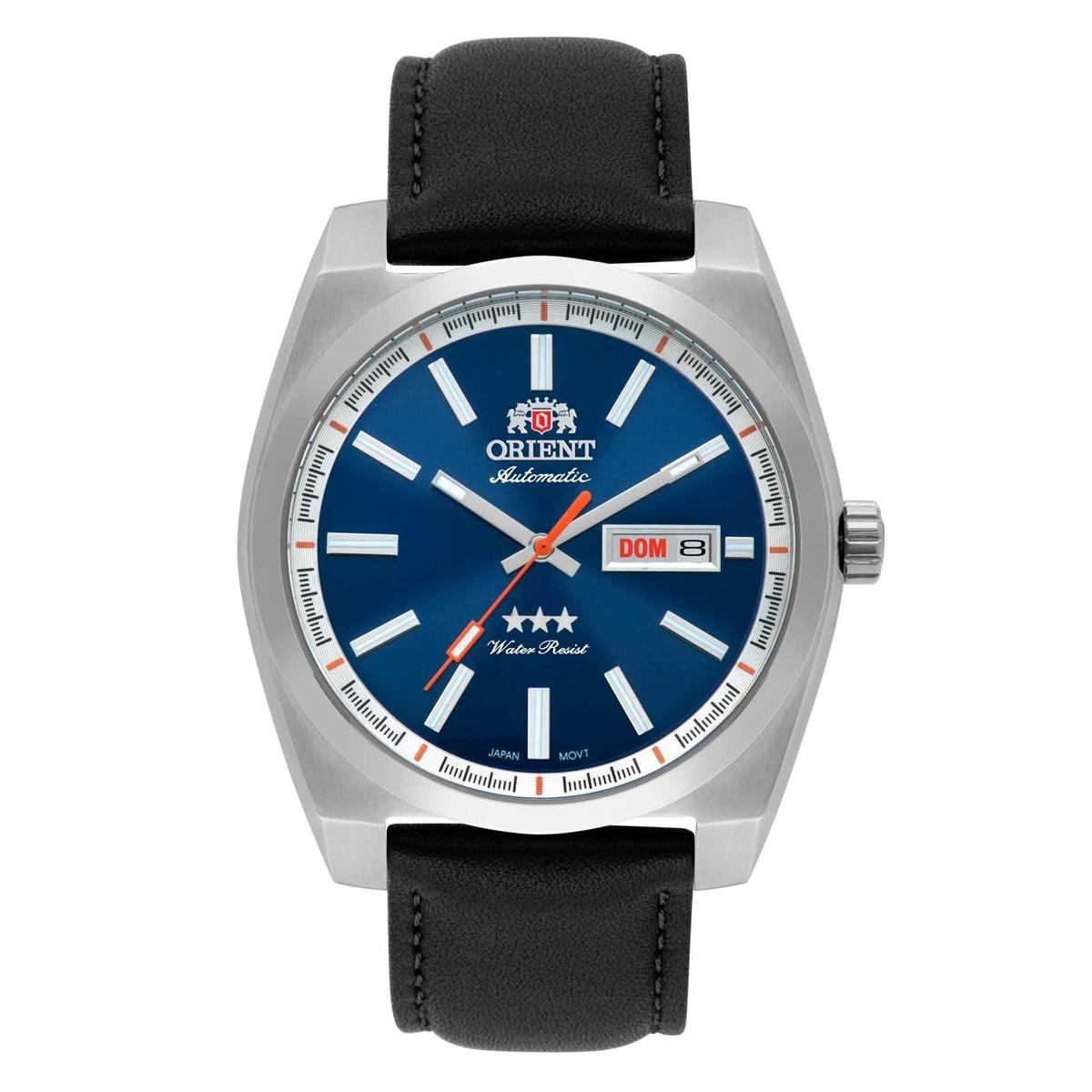 f295dbdf0a7 relógio automático orient masculino 50 metros 469ss069 d1px. Carregando zoom .