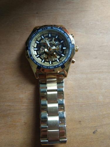 relógio automático winner forsining com caixa