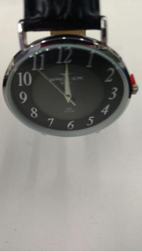 relógio backer masculino slim 10814122m pr original e barato