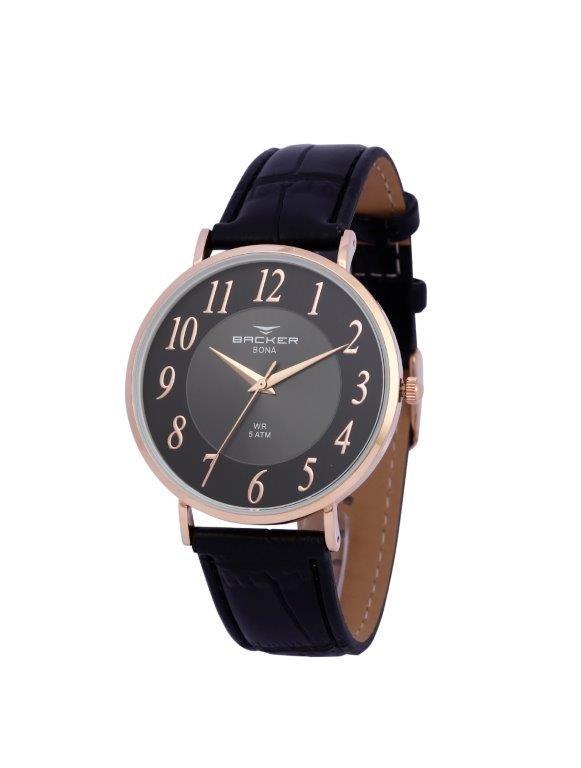 d1630603d9a Relógio Backer Masculino Slim 10816112m Pr Original E Barato - R ...