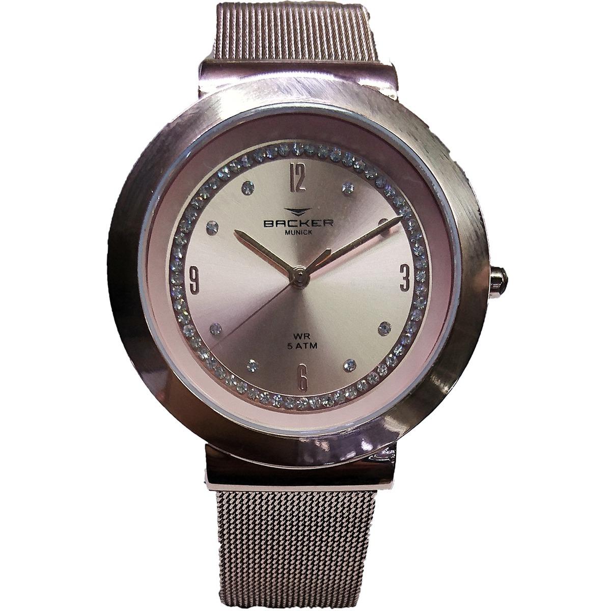 e04c053cd1c relógio backer - rosé - 3979113f-rs. Carregando zoom.